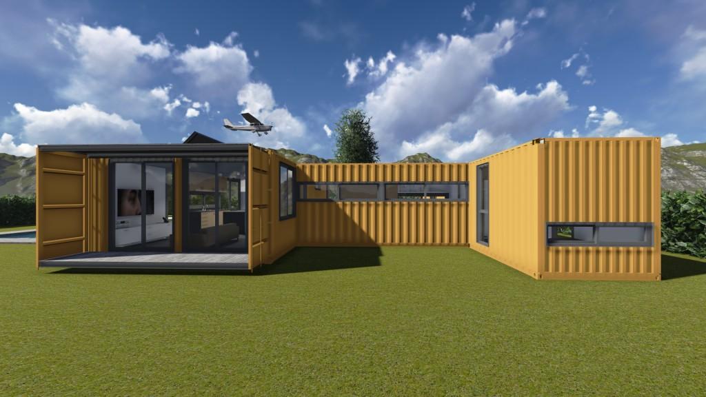 Viviendas hechas con contenedores mar timos reciclados - Como hacer una casa con un contenedor maritimo ...
